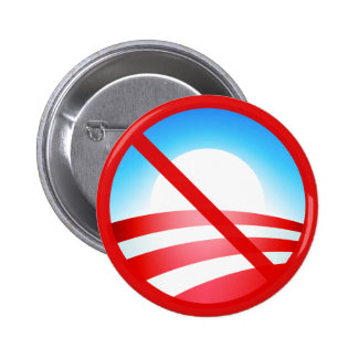 No Obama 2012 Button