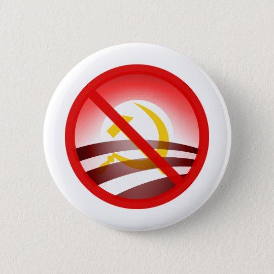 No Obama 2012 Pinback Button