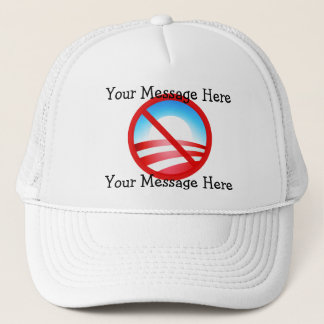 No Obama 2012 - Your Custom Text Trucker Hat