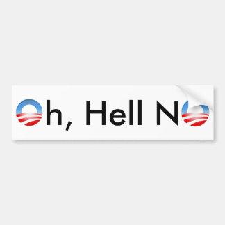 No Obama bumper sticker Car Bumper Sticker