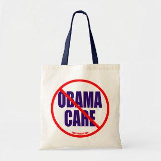 No Obama Care Totebag Canvas Bags