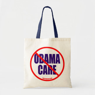 No Obama Care Totebag Tote Bag