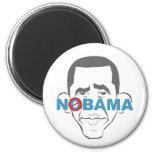 No Obama! Fridge Magnet