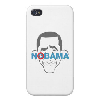 No Obama! iPhone 4 Cover