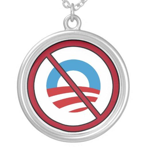 No Obama Necklace