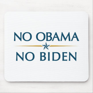 NO OBAMA NO BIDEN MOUSE PAD