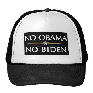 NO OBAMA NO BIDEN TRUCKER HAT