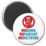 NO OBAMA NO FASCIST NO DICTATOR (v133x) Magnet