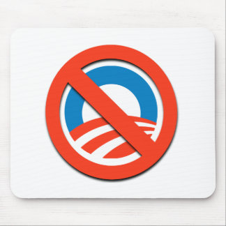 NO OBAMA / NO O MOUSE PAD