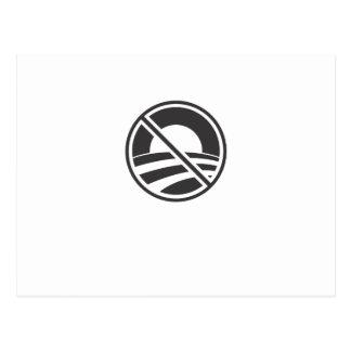 No Obama Postcard
