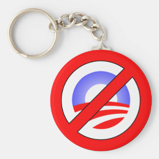 No Obama rather than Yes Romney Keychain