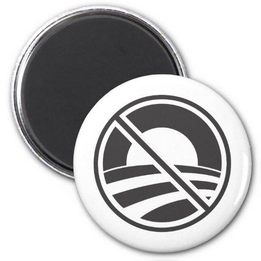 No Obama Refrigerator Magnet