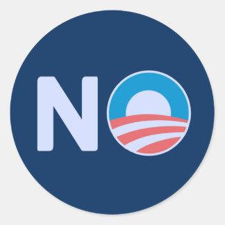 No Obama Sticker