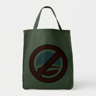 No Obama: Your Change Is Not In My Wallet Tote Bag