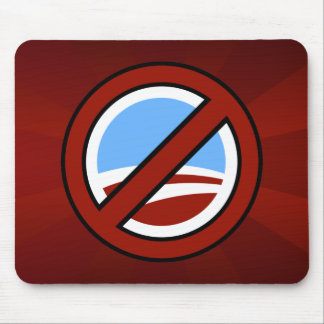 No Obama: Your Change Is Not In My Wallet Mouse Pad