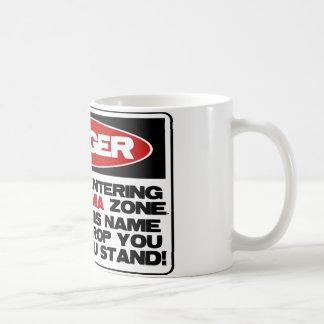 No Obama Zone Coffee Mugs