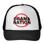 NO ObamaNation caps Trucker Hat