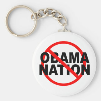 NO ObamaNation keychain