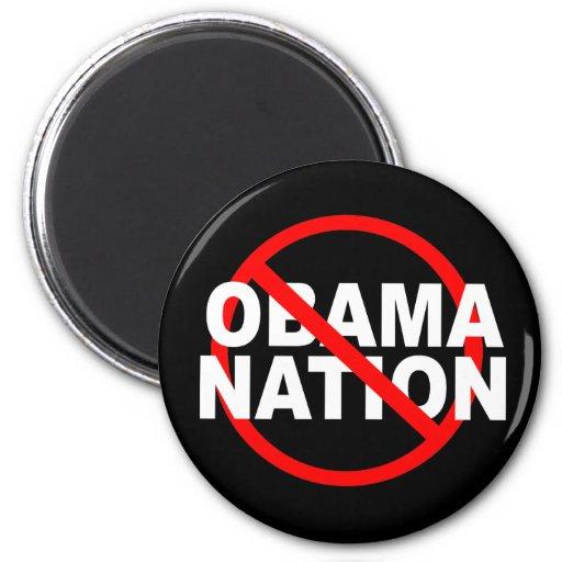 NO ObamaNation magnet
