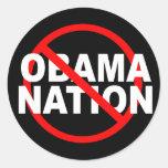 No ObamaNation stickers