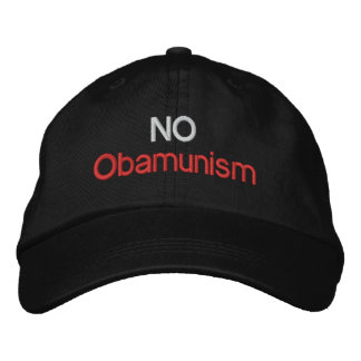 NO Obamunism 1.0 Embroidered Hats