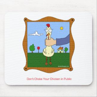 No obstruya su pollo alfombrillas de ratones