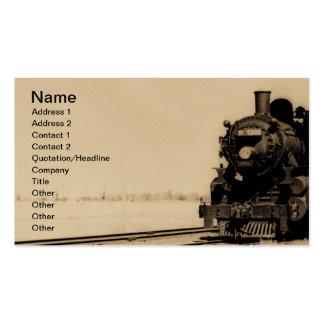 No. occidental 5042 del motor del tronco magnífico tarjetas de visita