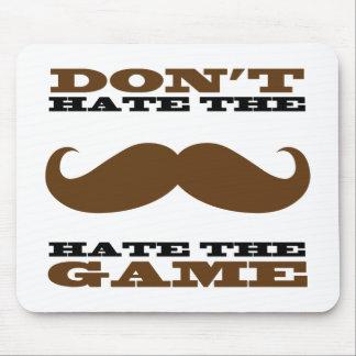 No odie el bigote Mousepad Tapete De Ratón
