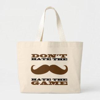 No odie el bolso del bigote bolsa