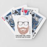 No odie el jugador, ni el juego barajas de cartas