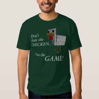 No odie el pollo, odian el juego playera