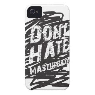 NO ODIE MASTURBATE Case-Mate iPhone 4 CÁRCASAS