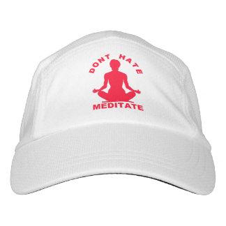 No odie Meditate Gorra De Alto Rendimiento