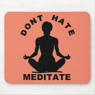 No odie Meditate Mousepad