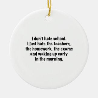 No odio la escuela ornamentos para reyes magos