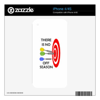 NO OFF SEASON DECAL FOR iPhone 4S