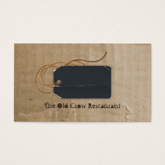 No Old Crow Business Cards
