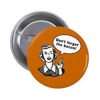 ¡No olvide el tocino! Diseño del tocino de la dive Pin Redondo 5 Cm