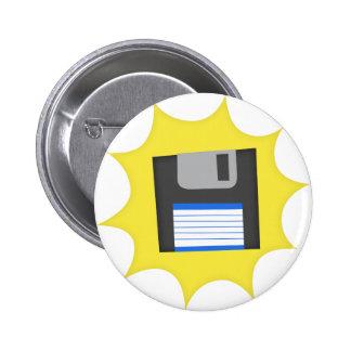 No olvide las diskettes pin redondo 5 cm
