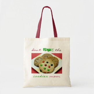 No olvide las galletas mamá, bolso de ultramarinos bolsa tela barata