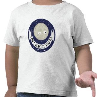 No olvide Plutón Camiseta