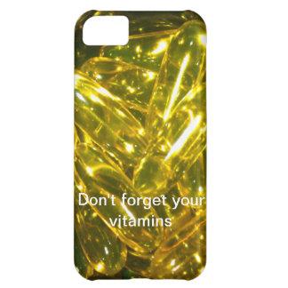 No olvide sus vitaminas
