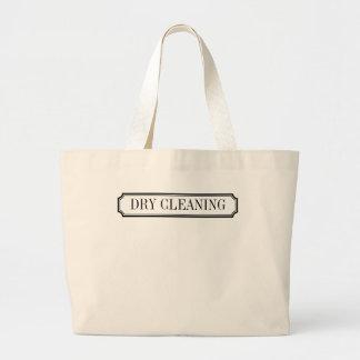 No olvide tote de la etiqueta de la limpieza en bolsa