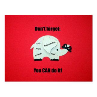No olvide: ¡Usted PUEDE hacerlo! Postal