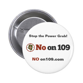 No on 109 Button