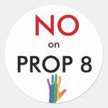 No on Prop 8 Sticker