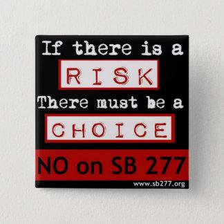 No on SB277 Square Button
