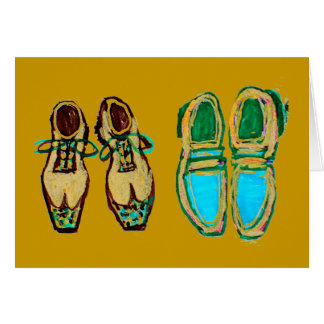 No One Can Ever Fill Your Shoes, Dad Greeting Card