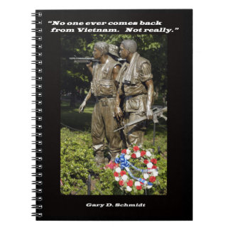 No One Ever Comes Back From Vietnam Notebook