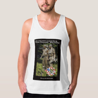 No One Ever Comes Back From Vietnam Tank Top